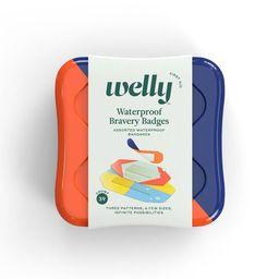Welly Waterproof Bravery Badges Assorted Waterproof Bandages - 39ct | Target