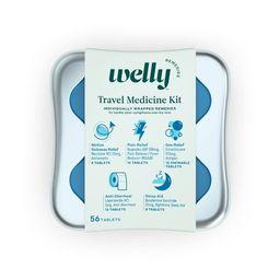Welly Travel Medicine Kit - 56ct | Target