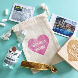 BRIDES BABE FAVORS   hangover kit bag   bachelorette party favors   bridesmaid kit   bridal party...   Etsy (US)