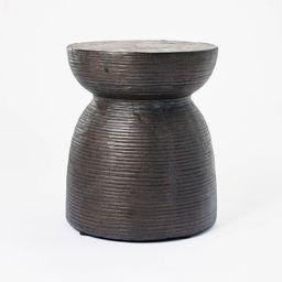 Grantsville Drum Accent Table Black - Threshold™ designed with Studio McGee   Target