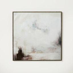 "30"" x 30"" Beautiful Brushwork Framed Canvas - Threshold™ designed with Studio McGee   Target"