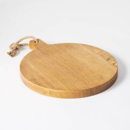 """13"""" x 11"""" Rubberwood Serving Board  - Threshold™ designed with Studio McGee   Target"""