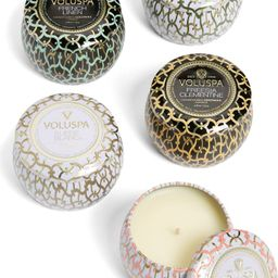 Maison Set of 5 Tin Candles   Nordstrom