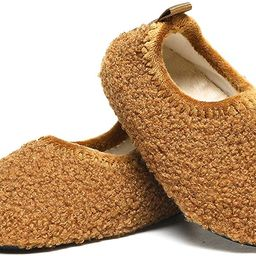 SLEVEL Toddler Boys Girls House Socks Slippers Little Kids Lightweight Indoor Home Shoes | Amazon (US)