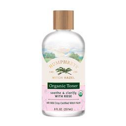 Humphreys ® Soothe and Clarify Witch Hazel with Rose Organic Toner, 8 fl oz   Walmart (US)