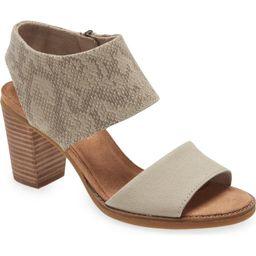 Majorca Block Heel Sandal   Nordstrom