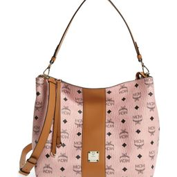 Medium Water Repellent Faux Leather Hobo Bag | Nordstrom