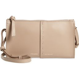 Les Second Leather Crossbody Wallet   Nordstrom