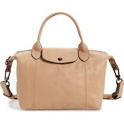 Le Pliage Cuir Leather Shoulder Bag | Nordstrom