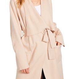BB Dakota Drape Front Cardigan Coat | Nordstrom