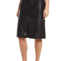 Leather Pencil Skirt   Nordstrom