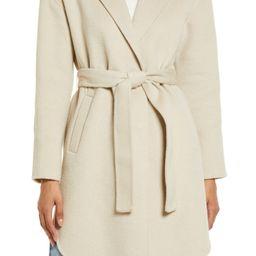 Belted Wool Blend Coat   Nordstrom