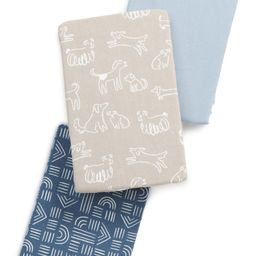 Assorted 3-Pack Fitted Crib Sheets | Nordstrom