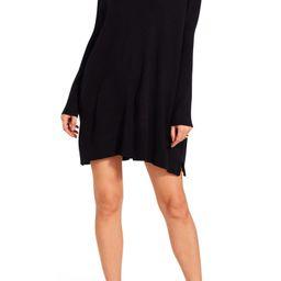 BB Dakota x Steve Madden Adelaide V-Neck Long Sleeve Sweater Dress | Nordstrom