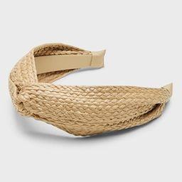 Straw Knot Headband   Banana Republic (CA)