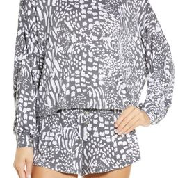 All American Long Sleeve Shortie Pajamas   Nordstrom