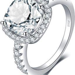 JewelryPalace 3ct Zirkonia Verlobungsring Eheringe Promise Verlobung Ring Silber 925 Damen, Silbe...   Amazon (DE)