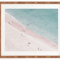 Ingrid Beddoes - Beach Summer of Love Framed Wall Art | Nordstrom
