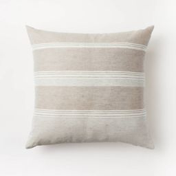 Woven Asymmetric Striped Throw Pillow - Threshold™ designed with Studio McGee | Target