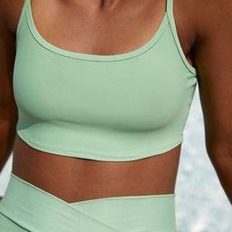 Aerie Longline Scoop Bikini Top | American Eagle Outfitters (US & CA)