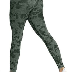 Women's Scrunch Butt Lifting Adapt Camo Animal Seamless Leggings Booty High Waisted Workout Yoga ...   Amazon (US)