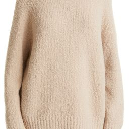 Funnel Neck Chunky Wool Blend Sweater   Nordstrom   Nordstrom