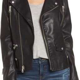 Levi's® Faux Leather Moto Jacket   Nordstrom Rack