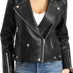 Faux Leather Moto Jacket | Nordstrom