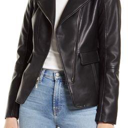 Asymmetrical Faux Leather Moto Jacket | Nordstrom