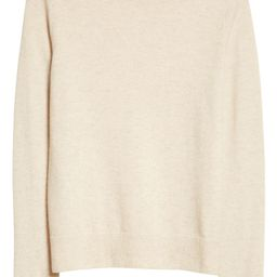 Easy Fit Crewneck Wool & Cashmere Sweater | Nordstrom