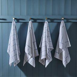 Essential Set of 4 Flour Sack Kitchen Towels   Nordstrom