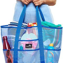 Dejaroo Mesh Beach Bag - Lightweight Tote Bag For Toys & Vacation Essentials   Amazon (US)