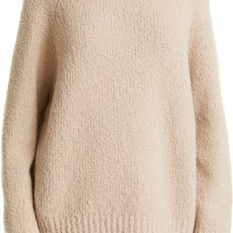 Funnel Neck Chunky Wool Blend Sweater | Nordstrom
