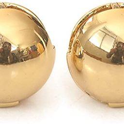 Moonboo Gold Huggie Ball Hoop Earrings for Women & Girls, Chunky 14K Gold Plated Hypoallergenic C...   Amazon (US)