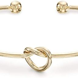 PAVOI 14K Gold Plated Forever Love Knot Infinity Bracelets for Women   Gold Bracelet for Women   Amazon (US)