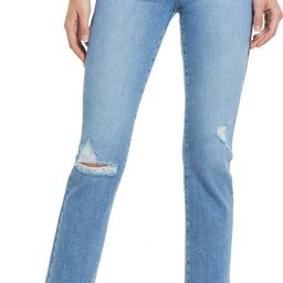 Cindy Ripped Straight Leg Jeans   Nordstrom