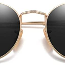 SOJOS Small Round Polarized Sunglasses for Women Men Classic Vintage Retro Shades UV400 SJ1014   Amazon (US)