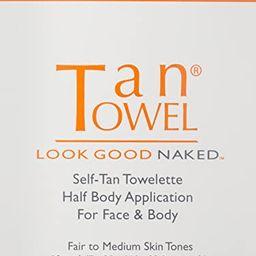 Tan Towel Self Tan Towelette Classic 10 Count   Amazon (US)