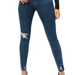 Good Waist Distressed Ankle Skinny Jeans   Nordstrom