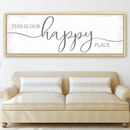 This Is Our Happy Place Sign | Our Happy Place Sign | This is Our Happy Place | Etsy (US)