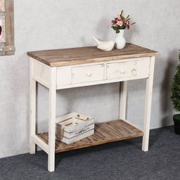 Shila 35.24'' Solid Wood Console Table | Wayfair North America