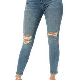 Good Legs Distressed Ankle Skinny Jeans   Nordstrom   Nordstrom
