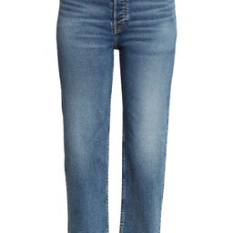 '70s High Waist Ankle Stovepipe Jeans   Nordstrom