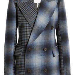 Mixed Plaid Blazer Jacket   Nordstrom