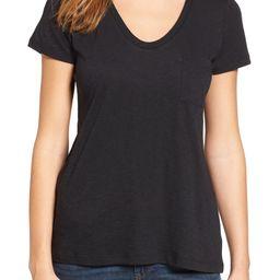 Rounded V-Neck T-Shirt | Nordstrom | Nordstrom