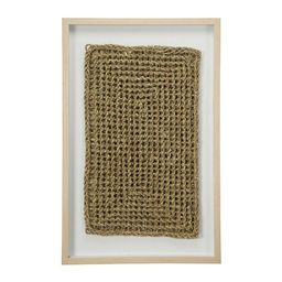 Rectangular Shadow Box with Rope Abstract Wall Décor | Wayfair North America