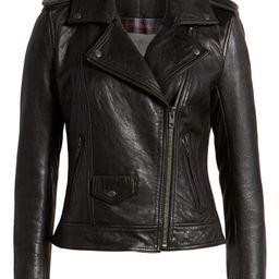 Leather Biker Jacket   Nordstrom
