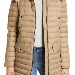 Abigail Hooded Water Repellent Puffer Jacket   Nordstrom