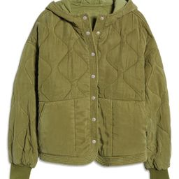 Quilted Hooded Jacket   Nordstrom