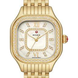 Meggie Diamond Dial Watch Head & Bracelet, 33mm | Nordstrom